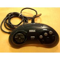 Lindo Controle Mega Drive Original 6 Botões Tectoy Md 3 Raro