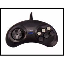 Controle Mega Drive Master System 6 Botoes Kit C/10!!!