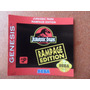 Label - Etiquetas P/ Genesis Jurassic Park Rampage Edition