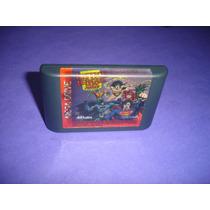 Mega Drive : Cartucho Liga Da Justiça Original , Tec Toy