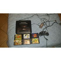 Console Video-game Sega Mega Drive 7 Com Cartuchos