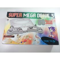 Video Game Super Mega Drive 3 Cinza C\60 - Na Caixa