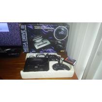 Mega Drive 3 Na Caixa Tem Mortal Kombat 2 Funcionando 100%.