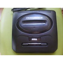 Mega Drive 3 Com 30 Jogos Na Memoria.