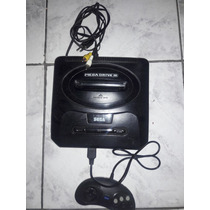 Video Game Mega Drive 3 + 1 Controle + 1 Jogo