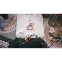 Tectoy Mega Drive 4 Guitar Idol Av + 2 Controles E 87 Jogos