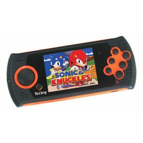 Mega Drive Portátil Md Play - Desbloq + Sd 1400 Jogos - Orig