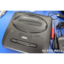 Mega Drive Iii Com 30 Jogos Na Memória