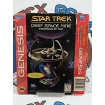 Capa Manual Encarte Mega Drive Sega Star Treck