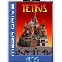 Tetris 16 Md Jogo Com Caixa Para Sega Mega Drive Genesis