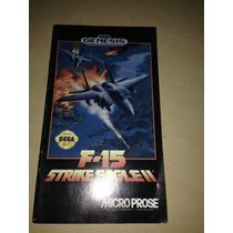 Manual F-15 Strike Eagle Ii Genesis Americano