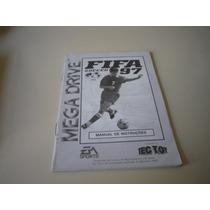 Manual Do Jogo Fifa Soccer 97 - Original Megadrive