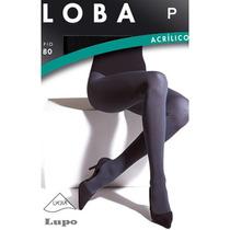 Meia Calça Lupo Da Loba / Fio 80 / Tamanho P / Preta