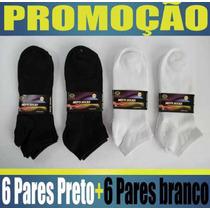 Kit 12 Pares De Meias Socks Sport Masculinas. Atacado.