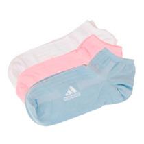 Meia Adidas Kit 3 Pack Sapatilha Az/bc/rs Feminino 34 - 39