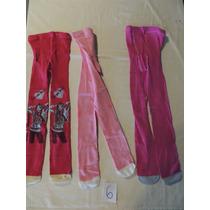 Kit 3 Meia Calça Infantil Hannah Montana 6-8 Cod 06