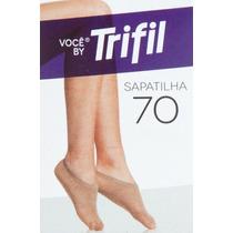 Pacote C/12 Pares Meias Trifil Sapatilha 70 Natural 220