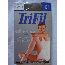 Meia Calça Trifil Adherence Fio 15 Denier.tabaco,preta,fume