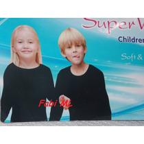 Blusa Ou Meia Térmica Infantil 480 Frio Intenso E Neve Uniss