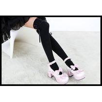Meias 5/8_j.rock_gothic Lolita_cosplay_visual Kei Pop_nana