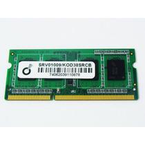 Memoria Notebook Ddr3 2gb 1333mhz Srv01009 Kod38srcb 1.5v