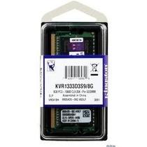 Memória Notebook Kingston 8gb Ddr3 1333mhz Sodimm Serve Mac