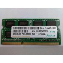 Memória P/ Notebook Ddr3 4gb 1333 Mhz Pc3-10600 Frete Grátis