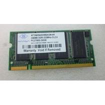Memoria Ddr333 256mb Pc2700s 25330 Nt256d64sh8bagm-6c