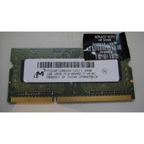 Memoria Ddr2 1gb Pc8500s Original Da Hp Semi Nova