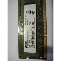 Memoria Ddr3 Pc3 1gb 10600 Para Notebook Marca Smart