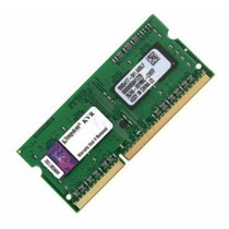 Memoria Kingston Para Notebook Ddr3 4 Gb Original 1333 Mhz