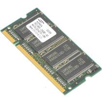 Memória Notebook Ddr 266 Pc2100 266mhz Ddr1 256mb Samsung