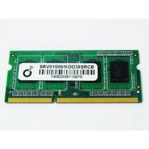 Memoria Ddr3 2gb Notebook - 1333 Mhz Nova Garantia 1 Ano