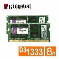Memoria P/ Notebook 8gb Ddr3 Pc-1333 10600mhz Kingston Nova