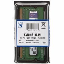 Memória Kingston Note Acer Asus Kit 8gb 2x4gb Ddr3 1600mhz