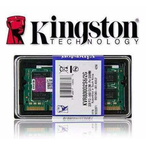 2 Pentes De Memoria Ddr2 2gb 667mhz Pc5300 Kingston Original
