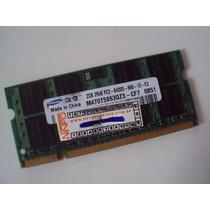 Memória Samsung Ddr2 - 2gb 2rx8 Pc2-6400s-666 Para Notebook