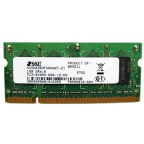 Memoria Notebook 1gb Ddr2 800mhz Smart Pc2-6400s-666-12-a3