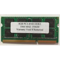 Memória 8 Gb 1066 Notebook Pente Unico - Apple Mac/notebooks