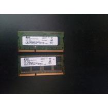 Kit Com 4gb De Memórias Ddr3 De 2gb ( 2 Pentes De 2gb)