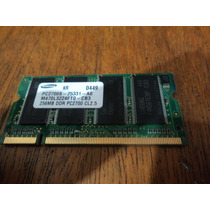 Memoria 256mb Ddr - Pc2700 Para Notebook
