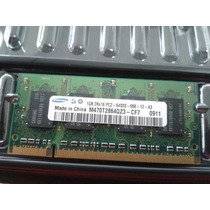 Memória Ram Samsung Notebook 1gb Ddr2 2rx16 Pc2 6400s 666mhz