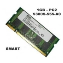 Memoria Ddr:2 Smart 1:gb Pc2 667 666 5300 5 Mhz Para Noteboo