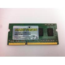 Memória Markvision Notebook 1 Gb Ddr3 1333mhz