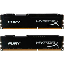 Memória Hyperx Fury Black Series 16gb ( 2x8gb ) 1600mhz