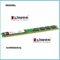 Memoria Ddr2 Kingston 800mhz 1gb Kvr800d2n6/1g Cod 16