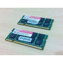 Memória Notebook Ddr2 667 1gb - Pack Com 2 Pentes