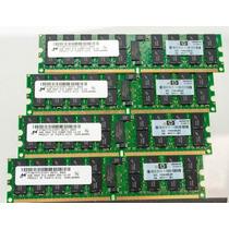 16gb (4x4gb) Pc2 - 5300p Ddr2 - 667mhz Reg Ecc 240p - T300