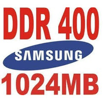 Memoria Samsung Ddr400 1gb No Atacado - Lote C/ 10 Peças