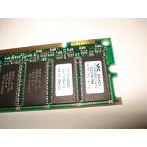 Memória Dimm Pc100-322-620 / 64mb 100 Mhz.cl3